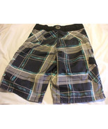 Maui And Sons Swimming Trunks Boys Size 12 Adjustable Waist 100% Polyester - $23.69