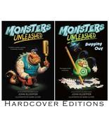 MONSTERS UNLEASHED Childrens Series by John Kloepfer HARDCOVER Volumes 1... - $29.99