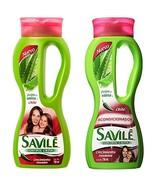 Savile Biotina Pulpa de Sabila y Chile Shampoo/Acondicionador Shampoo an... - $11.45