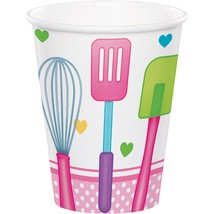 Little Chef 9 Oz. Paper Cup, Case of 96 - $41.65