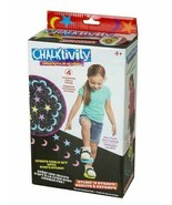 new Chalktivity Creativity in Action Stomper Stamps with 4 Powdered Chal... - $13.41