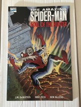 Amazing Spider-Man Soul Of Hunters Trade Paperback 1992 Marvel Comic Book VF+ image 2