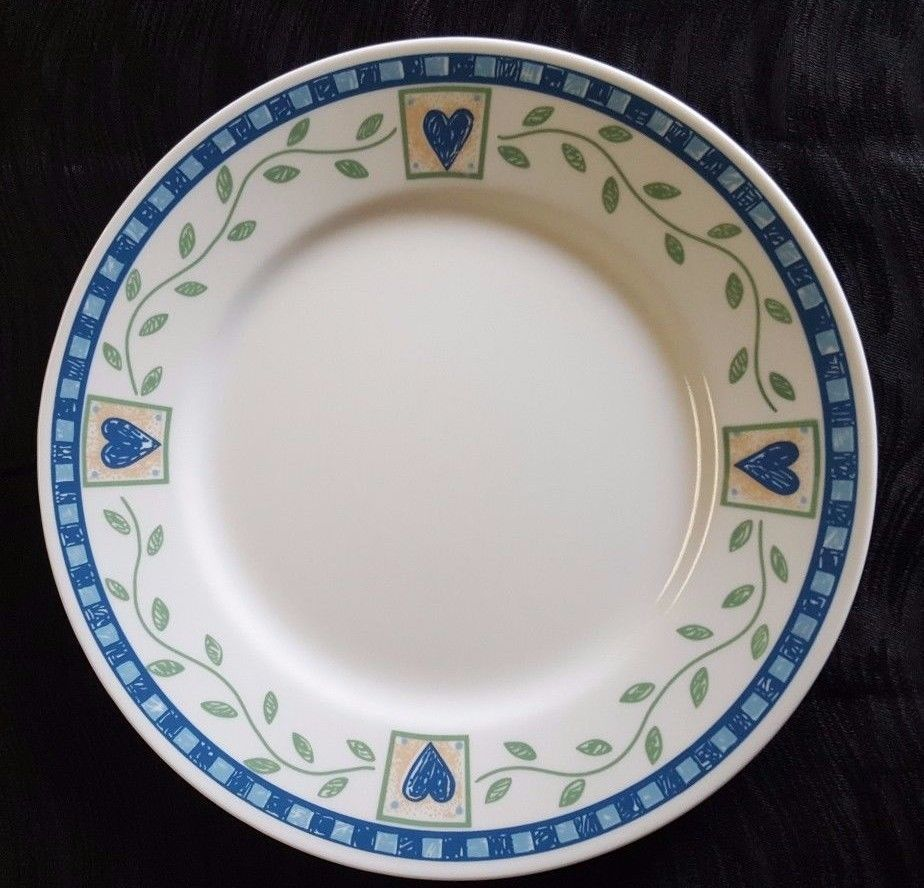 Corelle Hearts & Vines Dinner Plate by and 50 similar items