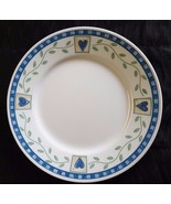 """Corelle Hearts & Vines Dinner Plate by Corning 10 3/4"""" Discontinued Dish - $11.88"""