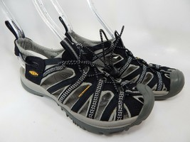 Keen Whisper Size US 8.5 M (B) EU 39 Women's Outdoor Sport Sandals Black 1008448