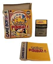 Pokemon Pinball Nintendo Game Boy Color Preowned - $49.99