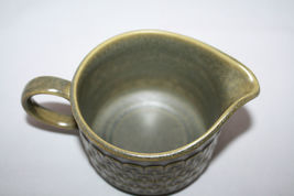 Vintage Wedgwood Cambrian Green Creamer  Made in England Retro Oven to Table image 5
