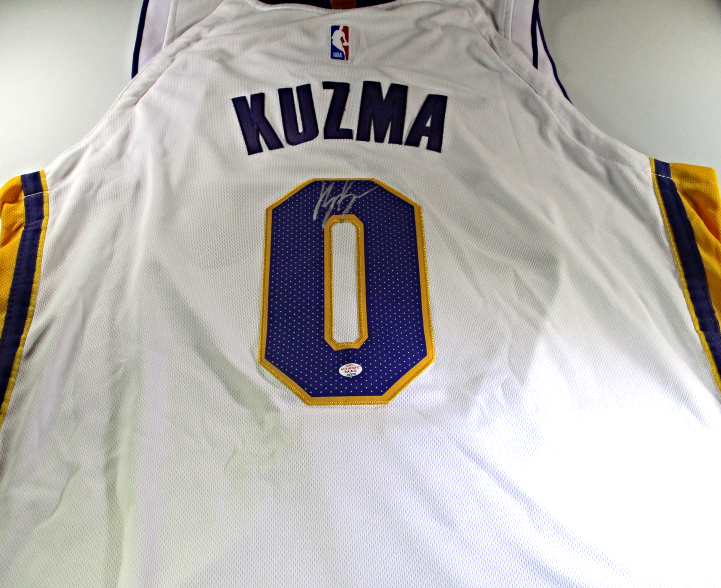 best service cca4a f6c1e Kyle Kuzma - Los Angeles Lakers - Hand and 21 similar items