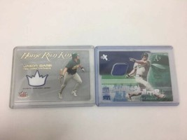 Jason Giambi Game Used Card Lot Oakland A's Yankees - $9.89