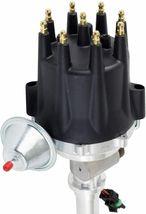 Chevy Corvette SBC Pro Series R2R Distributor 262 283 350 400 8mm Spark Plug Kit image 2