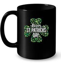 Happy St Patricks Day Shamrock Irish Gift Coffee Mug - $13.99+