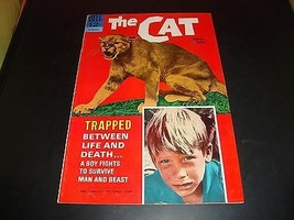 The Cat 1966 Movie Classic Dell Comic Book FN Condition 7.0 Dwayne Redlin Cover - $9.09