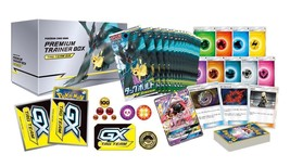 Pokemon Card Game Sun Moon Premium Trainer Box Tag Team Gx Bolt - $184.99