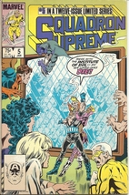 (CB-14} 1986 Marvel Comic Book: Squadron Supreme #5 - $3.00