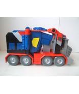 Transformers Optimus Prime Battle Blasts Gun Semi Truck 2007 Hasbro Test... - $19.21