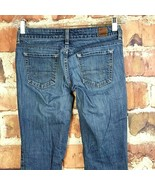 American Eagle 77 Straight Jeans Womens Size 2 Short #208 - $16.82