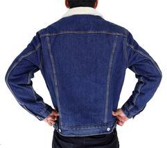 Levi's Men's Premium Button Up Denim Fleece Lined Jeans Jacket 72336001 size L image 6