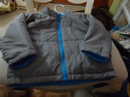 Toddler size 18M blue and gray reversible jacket from Target - $11.00