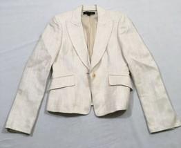 M20 ANNE KLEIN AK Beige Suit Jacket Blazer WOMEN'S 4 - $19.75