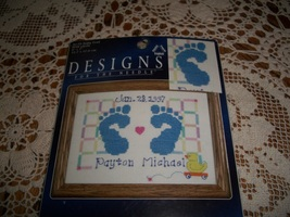 Baby Feet Counted Cross Stitch Kit 5118 - $10.00