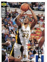 1994-1995 Upper Deck Collector's Choice Card Antonio Davis #233 Indiana ... - $1.97