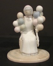 "Vintage Roman Inc 1983, Porcelain ""  The Balloon Lady'.Figurine~ Signed ... - $5.99"
