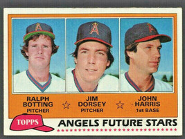 California Angels Future Stars 1981 Topps Baseball Card # 214 - $0.50