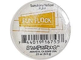 Stampendous Fun Flock Powder, Sunshiny Yellow #FL811 image 2