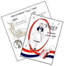 Vintage Peggy McCall Mannequin Manikin Replacement Brochures - $6.99