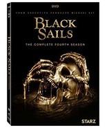 Black Sails The Complete Fourth Season 4 Four (DVD,2017,3-Disc Set) NEW - $16.82