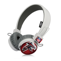 Atlanta Falcons Bluetooth, FM Radio, Sd Card Headphones Black - $26.00