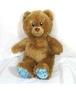 Build A Bear Happy Birthday Bear Boys Girls Brown Blue 15 inch - $12.86