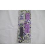 20 Lavender Incense Sticks With Purple wooden Ash Catcher Incense Holder - $19.99