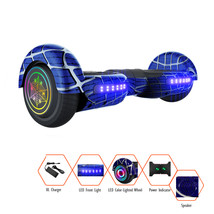 Spiderman Hoverboard With Built-In Bluetooth Speaker LED Light UP Wheel - $179.00