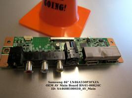 Samsung BN41-00824C Side AV Input Board [See List] - $16.00