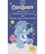 Bedtime for Care-a-Lot / The Best Way to Make Friends Care Bears: Bedtim... - $7.99