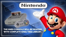 SNES Classic Game Console Mod Service (Console Not Included) - $99.95