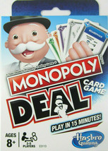 New Monopoly Card Game By Hasbro/Parker Bros No Board & Faster To Play 1... - $7.00