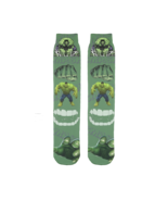 Incredible Hulk Marvel Avengers Superhero Funny Socks All Over Print Tub... - $20.49