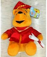 "Disney Winnie the Pooh 10"" Graduation Cap and Gown Plush - $24.99"