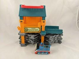 Thomas Train Sodor Steamworks Repair Shed Mattel 2011 - $8.95