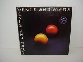 Paul McCartney and Wings Venus and Mars Lp Album Vinyl Record 33 - $19.70