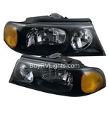 JAYCO AVATAR 2002 2003 2004 PAIR BLACK HEADLIGHTS HEAD LIGHTS FRONT LAMP... - $266.31