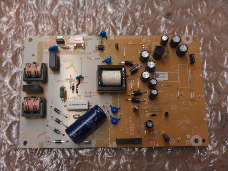 A34SB024 Power Supply Board From Magnavox 28MD403V/F7 LCD TV