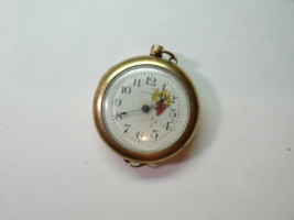 WALTHAM GOLD FILLED PORCELAIN DIAL WATCH FOR REPAIR OR TRENCH PARTS - $144.16