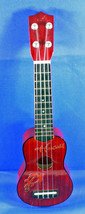 Ukelele with Applique of Turtles, Acoustic Hawaiin Guitar - $19.55