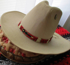 "Custom Made Classy! ""Music Man Hatband"" with Porcupine Quills   Handcraf... - $84.00"