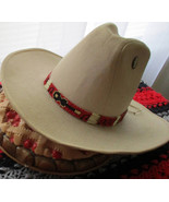"American Made! Classy! ""Music Man Hatband"" with Porcupine Quills   Handc... - $84.00"