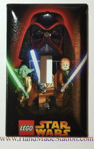 Lego Star Wars Darth Vader Light Switch Power Outlet Cover Plate Home Decor image 1