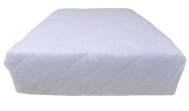 8 X DOUBLE HOTEL QUALITY WHITE DEEP FITTED ANTI ALLERGENIC MATTRESS PROT... - $63.68